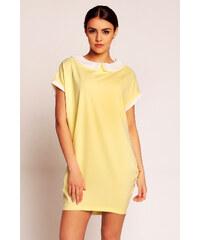 Karen Styl Žluté šaty H34