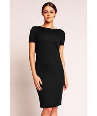 Karen Styl Černé šaty H39