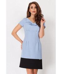 Awama Světle modré šaty A86