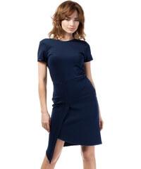 Tmavě modré šaty MOE 178