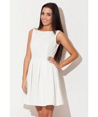 Katrus Bílé šaty K128