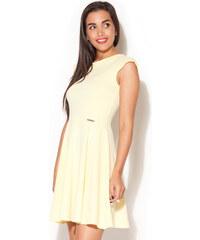 Katrus Žluté šaty K162