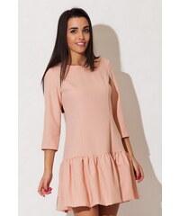Katrus Růžové šaty K150