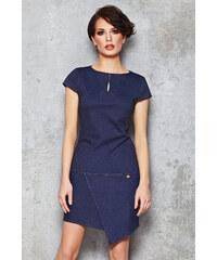 Infinite You Modré džínové šaty M048