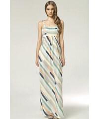 Nife Vícebarevné šaty S48