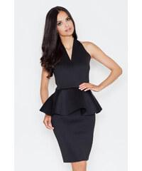 Figl Černé šaty M368