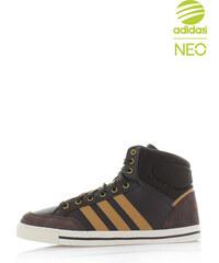 adidas NEO Pánské tmavě hnědé kotníkové tenisky ADIDAS Cacity Mid