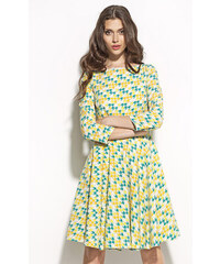 Nife Žluté šaty S58