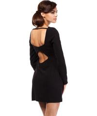 Černé šaty MOE 187