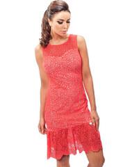 Enny Korálové šaty 190058