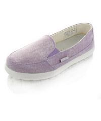 Dude Shoes Dámské světlefialové mokasíny Cesena