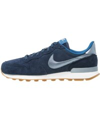 Nike Sportswear INTERNATIONALIST PREMIUM Sneaker low midnight navy/metallic blue dusk/court blue