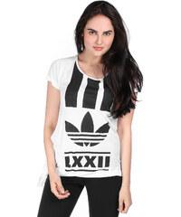 adidas Brln Edgy Str W T-Shirt white