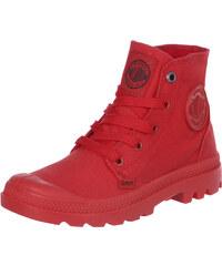 Palladium Mono Chrome chaussures red