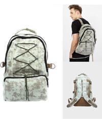 Lesara Canvas-Rucksack im Camouflage-Design
