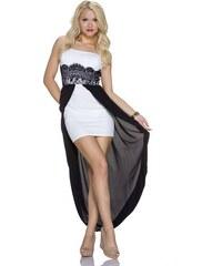 Dámské společenské šaty - bílé