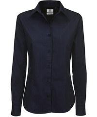 Dámská košile Sharp Twill - Námořní modrá XS