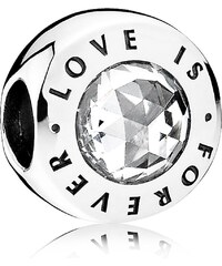 Pandora Love is Forever Silber-Bead 791813CZ