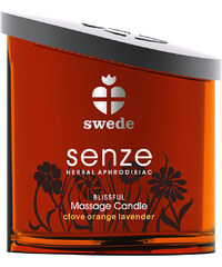 Swede Senze Massage Candle Blissful 150 ml, masážní svíčka
