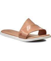 Pantoletten MELISSA - Melissa Bronzer Ad 31680 Brown/White 50672