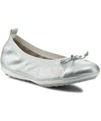 Ballerinas GEOX - J Piuma Ball D J42B0D 000TC C1007 Silber