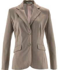 bpc bonprix collection Blazer en jersey marron manches longues femme - bonprix