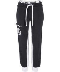 bpc bonprix collection Pantalon matière sweat noir femme - bonprix