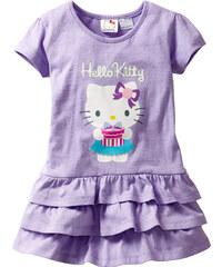 Robe Hello Kitty violet manches courtes enfant - bonprix
