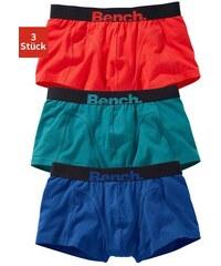 Hipster (3 Stück) mit farbigem Logodruck am Bund Cotton made in Africa Bench Farb-Set L,M,S,XL,XXL