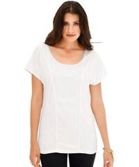 CRÉATION L Damen Création L Shirt mit überschnittenen Schultern braun 36,38,40,42,44,46,48,50,52