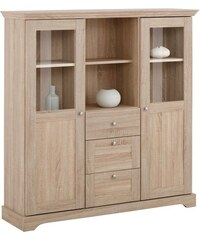 HOME AFFAIRE Highboard Anna Breite 122 cm natur