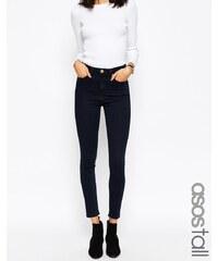 ASOS Tall - Ridley - Jean skinny - Bleu noirci Petunia - Bleu