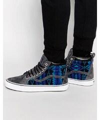 Vans x Pendleton - Sk8-Hi - Blaue Sneakers - VXH4HVL - Blau