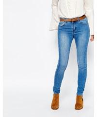 Vila - Jean skinny - Bleu