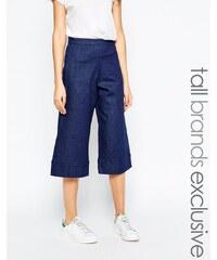 Waven Tall - Vera - Jupe-culotte en jean - Bleu