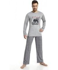 CORNETTE Pánské pyžamo 124/43 Bear lands