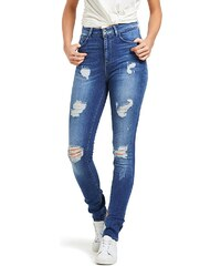 Only Coral High- Jeans