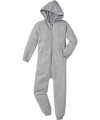 bpc bonprix collection Combinaison sweat à capuche gris manches longues enfant - bonprix