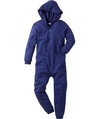 bpc bonprix collection Combinaison sweat à capuche bleu manches longues enfant - bonprix