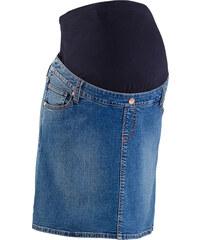 bpc bonprix collection Jupe en jean extensible de grossesse bleu femme - bonprix