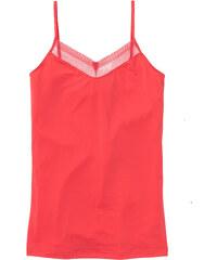 bpc bonprix collection Caraco microfibre rouge sans manches lingerie - bonprix