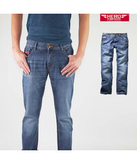 Hero jeans straight fit Boton Super stone