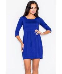 Šaty Figl 122, modrá - tmavě