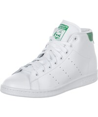 adidas Stan Smith Mid chaussures white/green