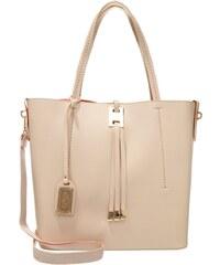 Buffalo Shopping Bag beige/orange