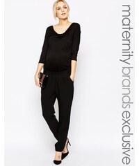 Mama.licious Mamalicious - Combinaison habillée à manches 3/4 - Noir