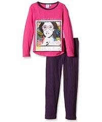 Disney Mädchen Zweiteiliger Schlafanzug Violetta