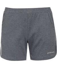 Kraťasy dámské LA Gear InterLock Shorts Charcoal Marl
