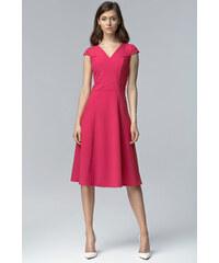NIFE Dámské šaty Decent růžová