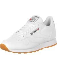 Reebok Cl Leather Schuhe white/gum